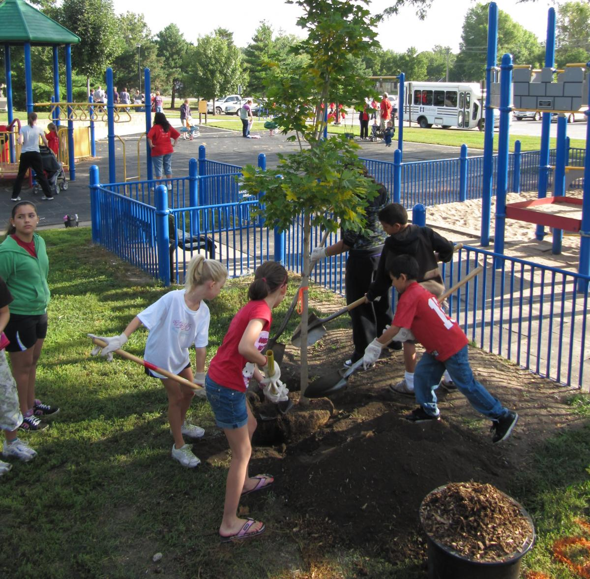 Volunteering In Lincoln Ne: ReTree Nebraska